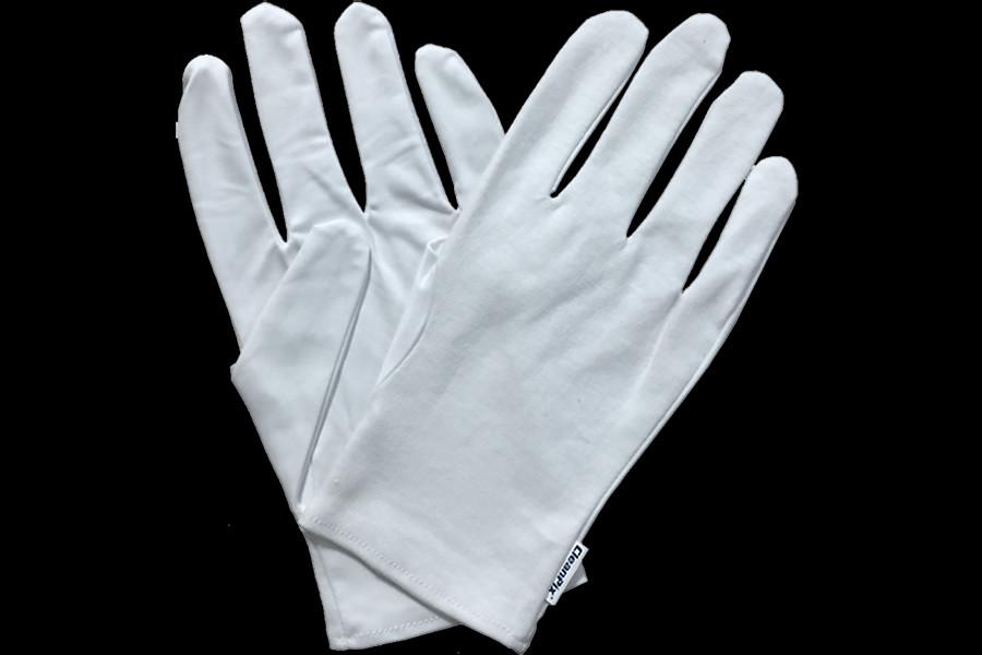 マイクロファイバー手袋(片面) メガネ拭きの生地を使用