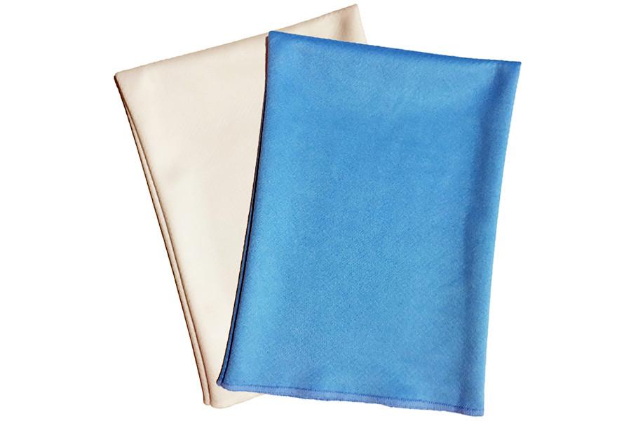 マイクロファイバー手袋(ミトン) メガネ拭きKNと同じ生地を使用しています。